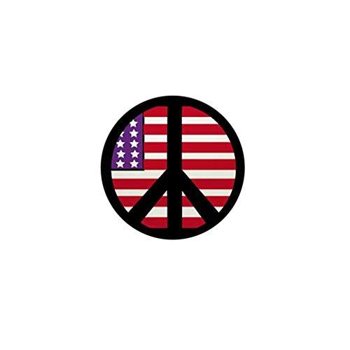 CafePress U.S. Flag Peace Sign 1