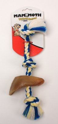 Rope Tug 13 Color W/Cow Hoof by Mammoth