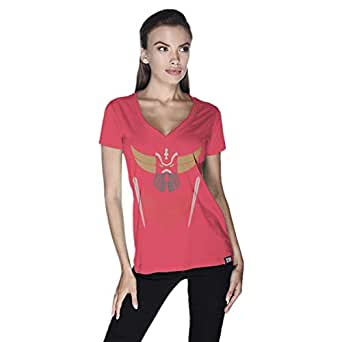 Creo Crindyzer Boss T-Shirt For Women - S, Pink