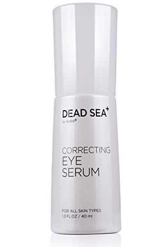 Dead Sea+ by AVANI Correcting Eye Serum | Reduce Wrinkles and Fine Lines Around Eyes | Essential Dead Sea Minerals & Natural Ingredients | Improves Skin's Elasticity -1.3 fl. oz