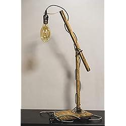 Wooden table Lamp Pride&Joy, desk lamps, unique lamps, decorative lights, cute table lamps, large table lamps, designer lights, buffet lamps