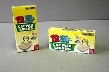 Cat Pan Liners 10 Pack Size: Large (12 Pack), My Pet Supplies