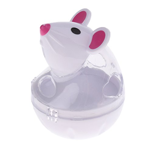 Baosity Pet Roly-poly Toy Exercise Tumbler Toy Treats and Chews Storing Food