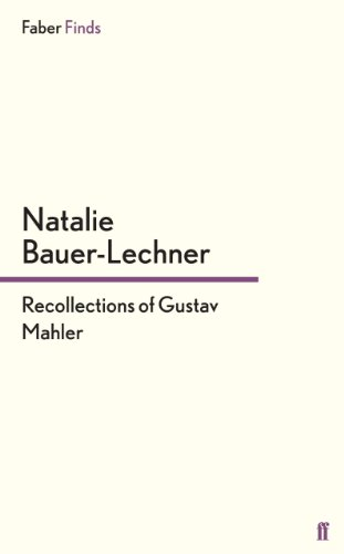 'PDF' Recollections Of Gustav Mahler. tarjetas without Friday tjedno SMSFs