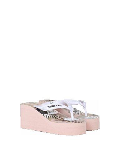Versace Jeans Tongs pour Femme Rose Rose Clair lOYgLf