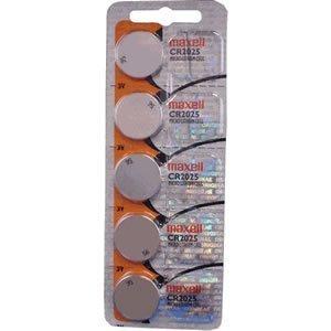 Maxell Cr2025-3V 5 Pack
