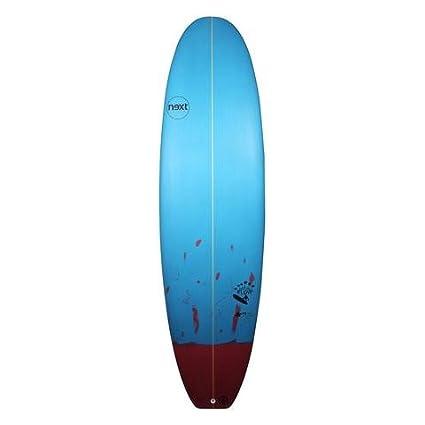 Next flujo Mini Mal sintética rendimiento tabla de surf - varios colores/tamaños 7 ft +, turquesa: Amazon.es: Deportes y aire libre