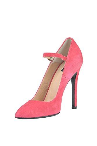 Pinko Femme MCGLCAT03013E Rose Suède Escarpins VhRUQDifX