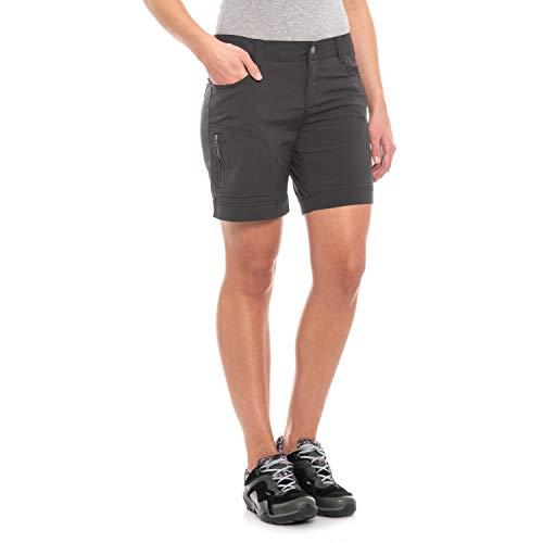 prAna Living Hazel Shorts, Dark Khaki, 4