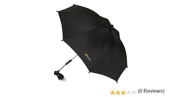 Hauck Sunshade Me - Parasol, apto para cualquier silla o carro, factor de protección UV 50, color negro: Amazon.es: Bebé