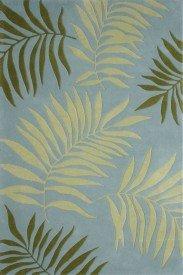 (Safavieh Soho Collection SOH335A Handmade Blue and Multi Premium Wool Area Rug (2' x 3'))