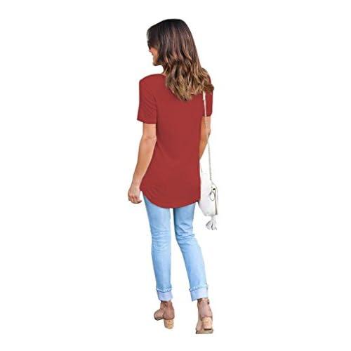 ef3f90f4988a Camisetas Anchas Mujer Camiseta Camisas Para Damas Camisa Manga ...