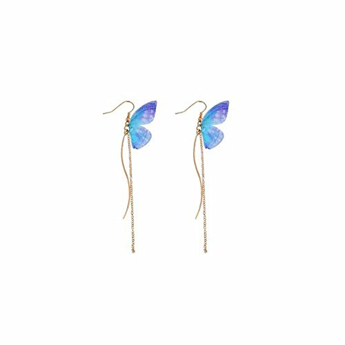 Miweel Bohemia Fashion Butterfly Pearl Wing earrings