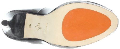 Cole Haan Femmes Air Chelsea Plate-forme Pompe Noir Brevet