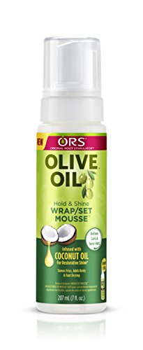 Olive Oil Smoother - ORS Olive Oil Hold & Shine Wrap/Set Mousse