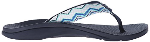 Chaco Women's Flip Ecotread Flip Sandal Santiago Blue clearance huge surprise lfGyKD