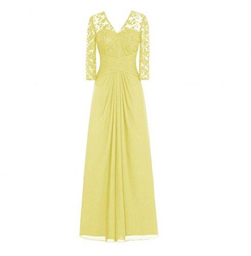 Kleid Beauty Beauty KA Gelb Kleid KA Mädchen Gelb Mädchen qHS5tt