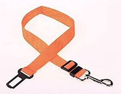 Dealzip Inc® Adjustable Car Vehicle Seat Seatbelt Safety Belt Harness Lead Clip Pet Cat Dog-Red
