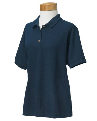 Gildan Ladies' Ultra CottonPiqu×™ Polo - Navy - XL