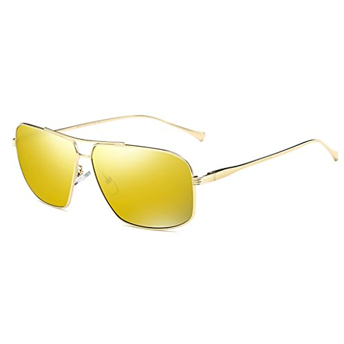 Libre Gafas polarizadas Hombre Light Lens para C B Ultra Metal Aire al Gafas Sol Frame Metallic de Deporte de Color HD wEBqxXIv