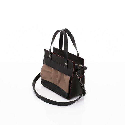 Slowbag SLOW POCKET BABY Exklusive handgemachte Handtasche für Damen Naturleder Braun G4sNdx6m