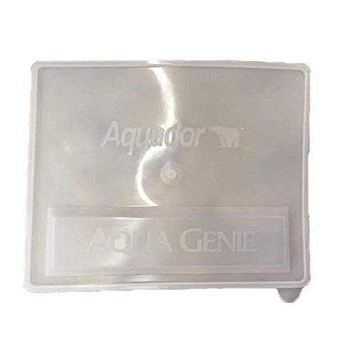 (Aquador 71050 Pool Skimmer Cover Replacement Lid Only for The 1050 System - Fits AquaGenie In-Ground Skimmers - USA Made)