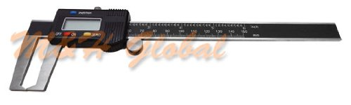 6'' 150mm OUTSIDE Groove Digital Caliper Outer Vernier Measurement Ruler Scale by Generic (Image #1)