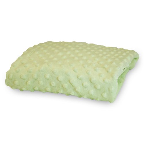Rumble Tuff  Minky Dot Changing Pad Cover, Sage,Compact by Rumble Tuff