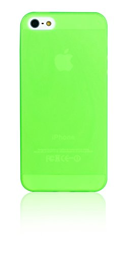 Spada 009650 Back Case - Ultra Slim Soft Cover - Apple iPhone 5/5S/5SE - Grün