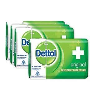 Dettol Soap Original 125g (Pack of 4)