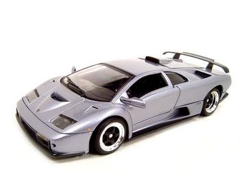 Lamborghini Diablo Gtcast Model Silver  Cast Car