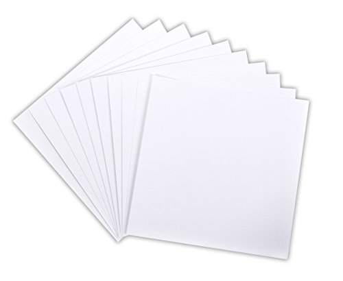 White 12x12 Cardstock - 7