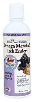 Royal Coat Express Omega Mender, Itch Ender - 8 ounces