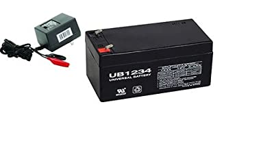12V 3.4AH Replacement Battery For Toro Lawn mower # 106-8397 with CHARGER