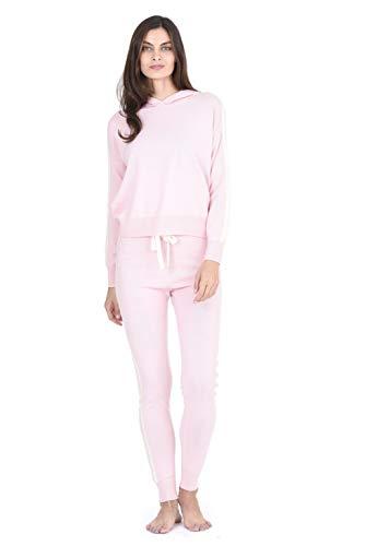 (State Fusio Women's Cashmere Wool Loungewear Set - Pants)