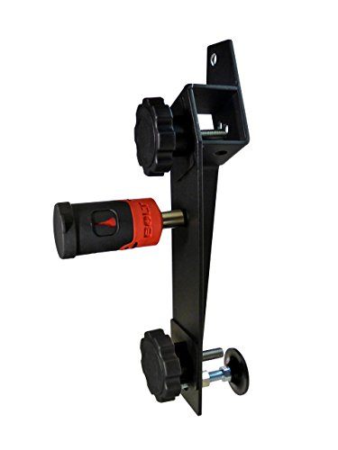 BOLT 7028649 Hi-Lift Jack Mount for Jeep Wrangler (Black Mount for Passenger Side, J-Mount)