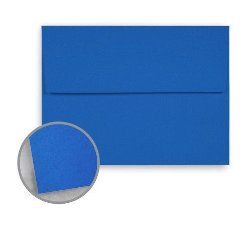 ff Blue Envelopes - A7 (5 1/4 X 7 1/4) 60 Lb Text (25 Per Pack) (Blue 60lb Text)