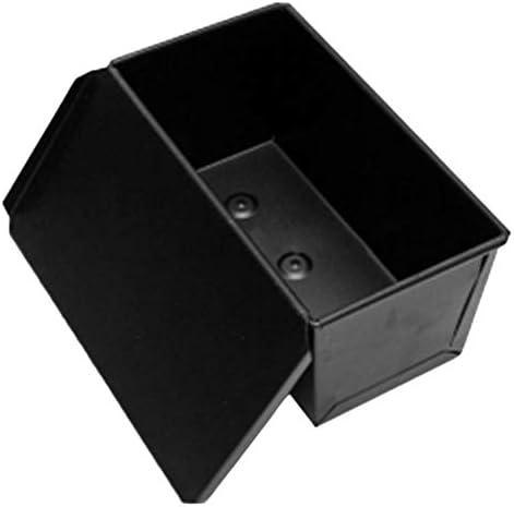 Caja antiadherente para pasteles con tapa deslizante para hornear ...