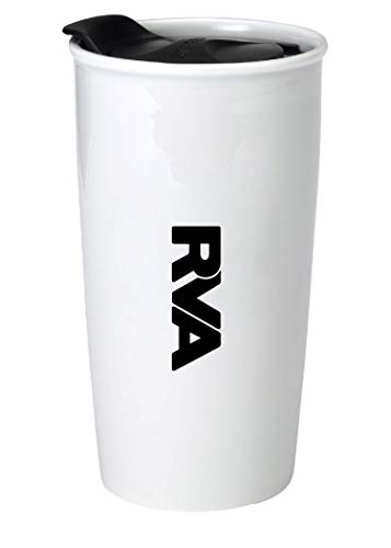 Richmond Virginia RVA Trendy Souvenir 12 oz Double Walled Ceramic Tumbler (Richmond Richmond Va Imports)