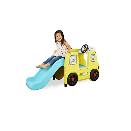 Little Tikes Little Baby Bum Wheels On The Bus Official Climber & Slide with Interactive Musical Dashboard