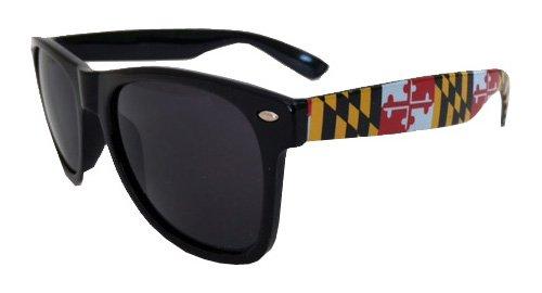 Maryland Flag Sunglasses - Sunglasses Flag Maryland