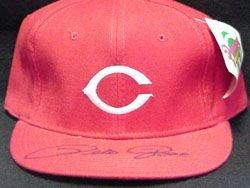 Signed Rose, Pete (Cincinnati Reds) Cincinnati Reds Hat autographed