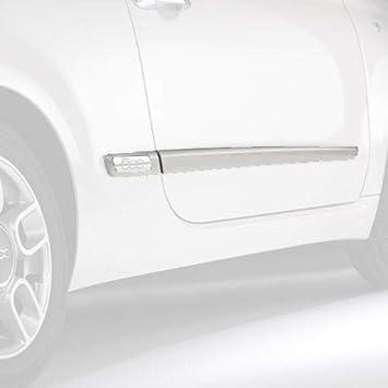 Fiat producto oficial de 500 lateral Molduras P/N 50901675: Amazon.es: Coche y moto