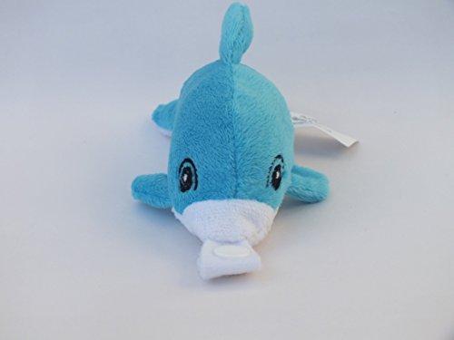 Peluche Chupete Holder ? * Danni por el delfín * - Perfecto Paci, titular de Binky Mordedor con un fuerte chasquido. Separe chupetes añadir su favorito.