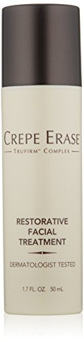 Crepe Erase – Restorative Facial Treatment – Nourishing Moisturizer – Coconut Oil for Fine Lines and Wrinkles and TruFirm Complex – 1.7 Ounces – CS.0044