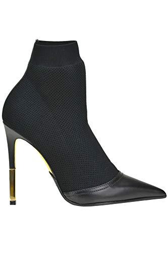 Negro Balmain Tela Zapatos Mcglcas04000i Mujer rZnOxSqCrw