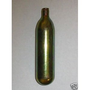 100 Ea 16 Gram Unthreaded CO2 Cartridges by Leland