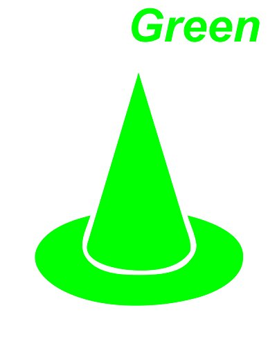 Green Seal cutting|Dunce cap|Hat|Pointed - Seal Aquamarine