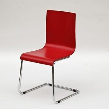 freischwinger stuhl rot bestseller shop f r m bel und einrichtungen. Black Bedroom Furniture Sets. Home Design Ideas