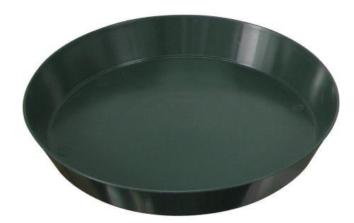 Green Premium Plastic Saucer 6-Inch 8-Pack